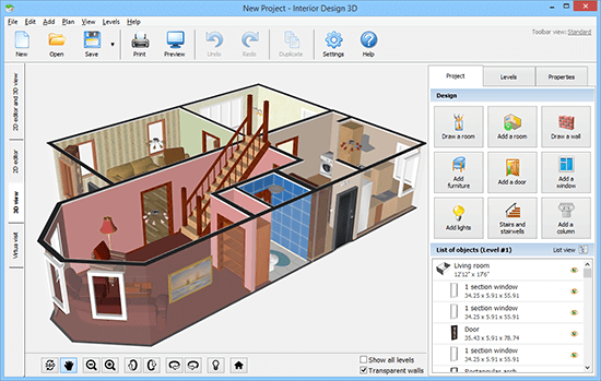 Interior Design 3D 3.25
