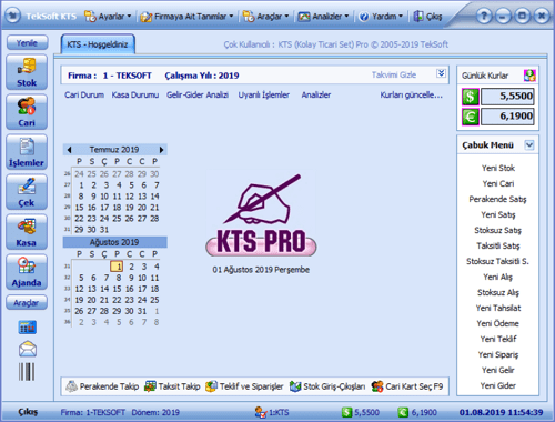 KTS Muhasebe Programı
