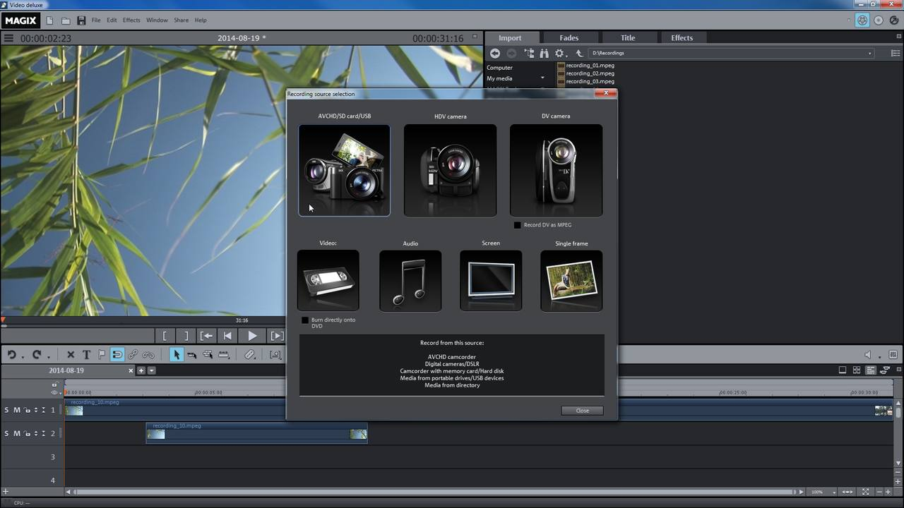MAGIX Movie Edit Pro 2021