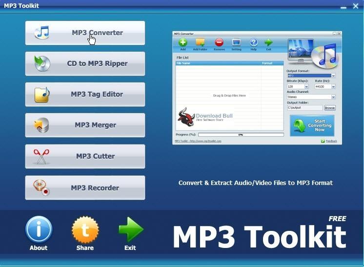 MP3 Toolkit 1.6.3.0