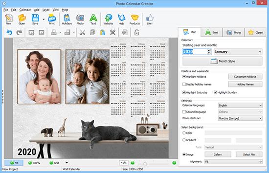 Photo Calendar Maker 15.0