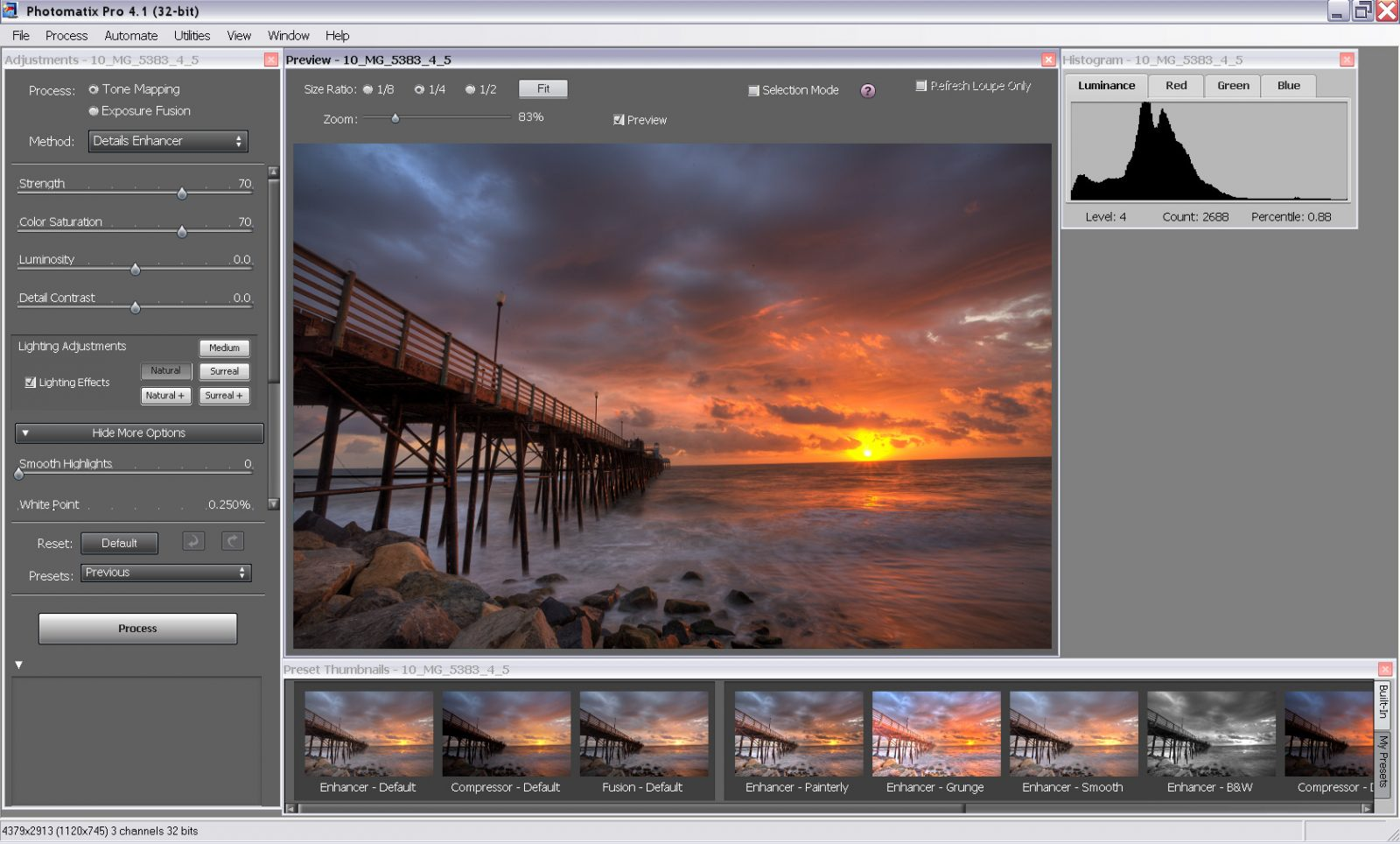 Photomatix Pro 6.2