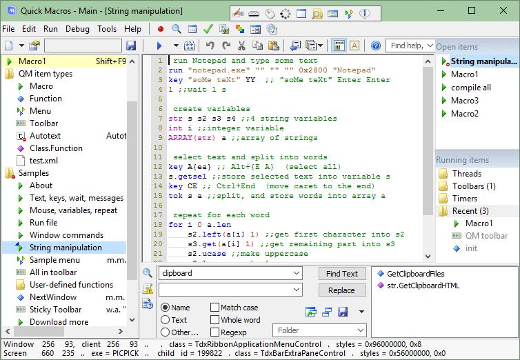 Quick Macros 2.4.12
