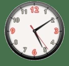 Saat Ajanda Adres Etiket Programı ikon