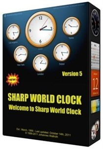 Sharp World Clock ikon