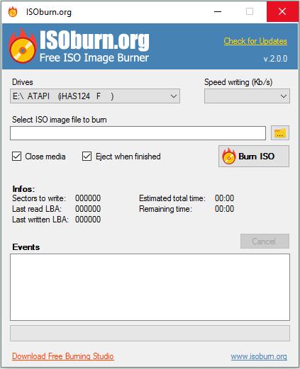 ISOBurn 2.0.0