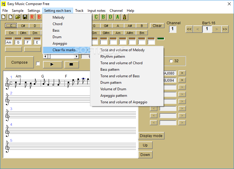 Easy Music Composer Free 9.97