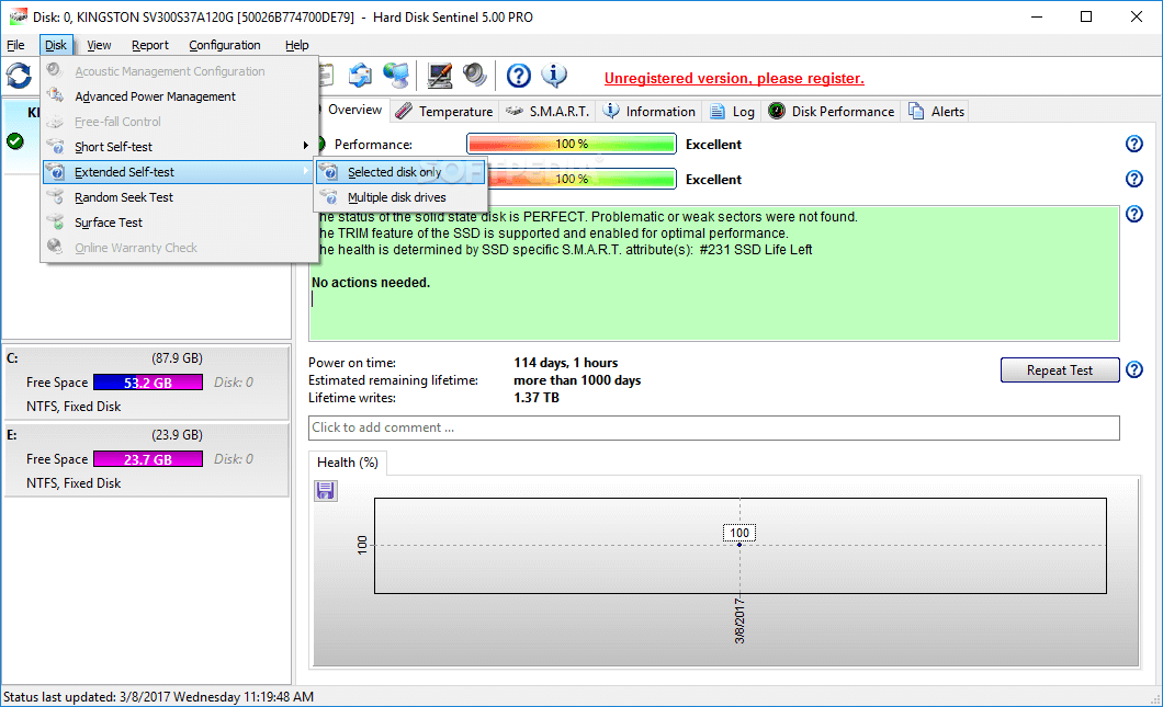 Hard Disk Sentinel Professional 5.60