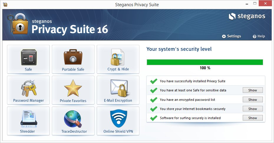 Steganos Privacy Suite 22.1.1.0