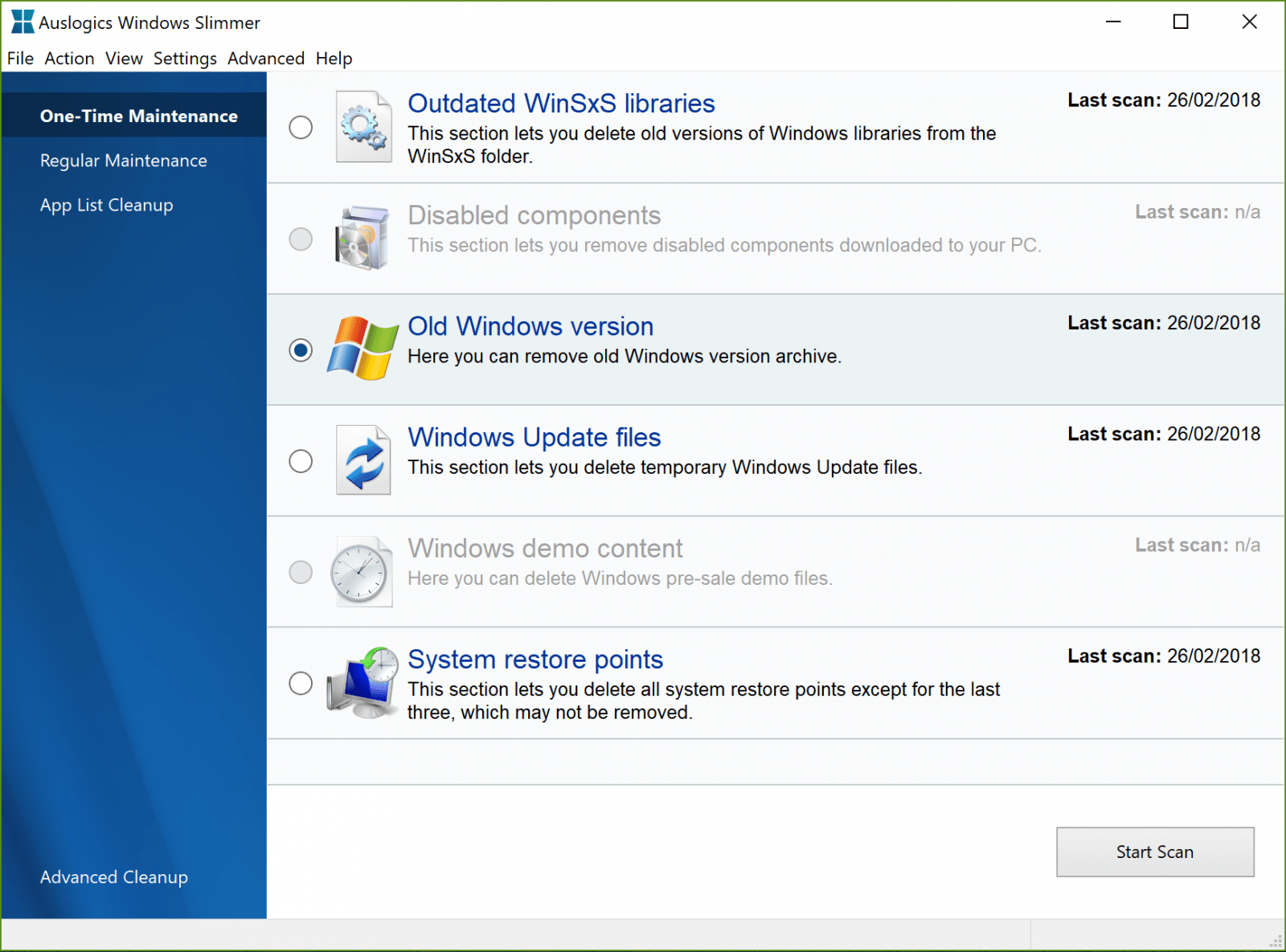 Windows Slimmer Free 2.5.0.0
