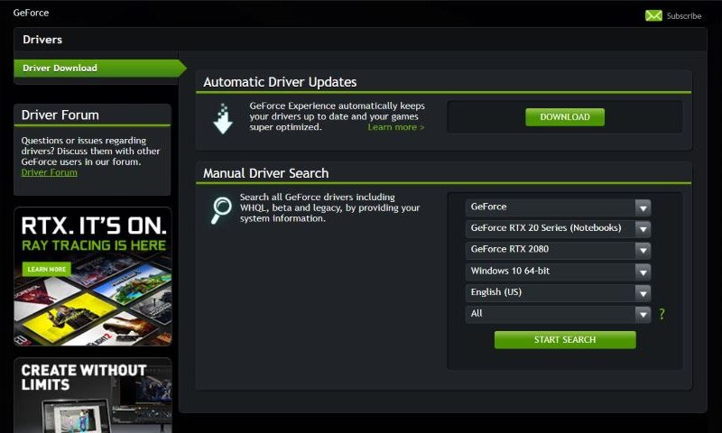 NVIDIA GeForce Game Ready Driver 398.36