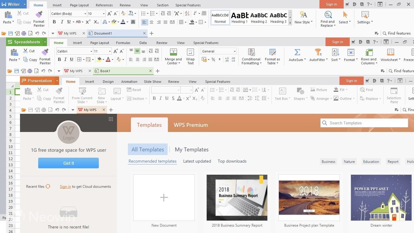 WPS Office Free 11.2.0.10101