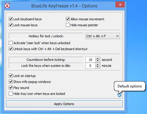 BlueLife KeyFreeze 1.4