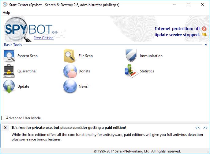 Spybot – Search & Destroy 2.8.68.0