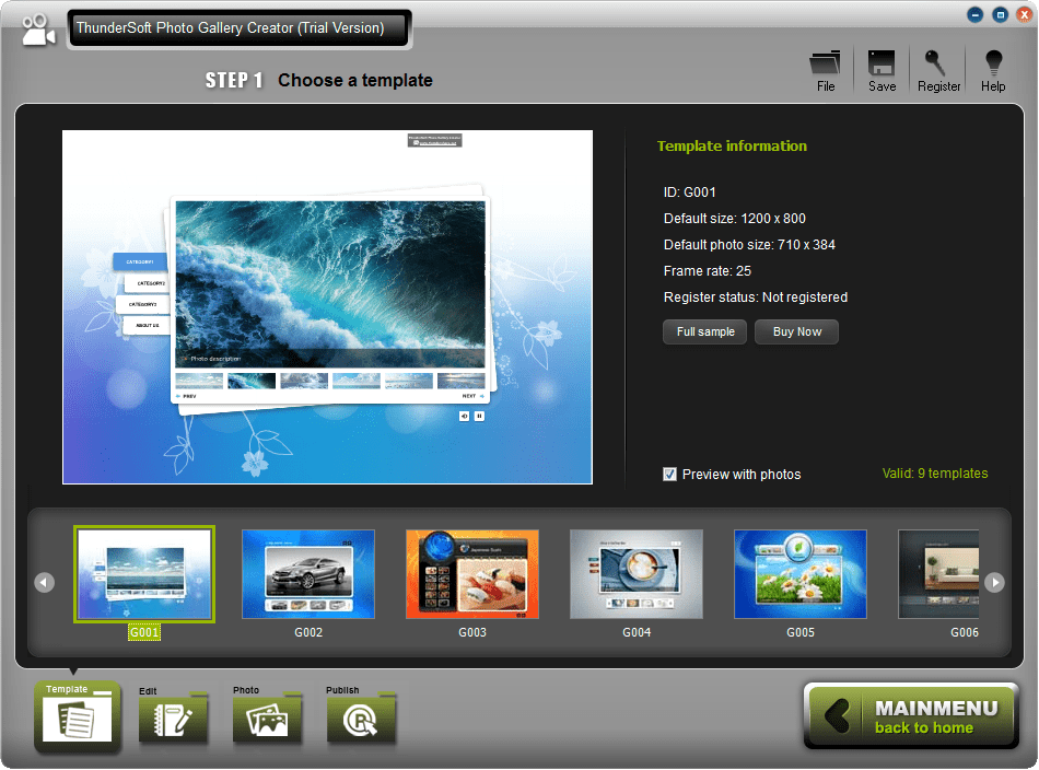 ThunderSoft Photo Gallery Creator 3.3.0.0