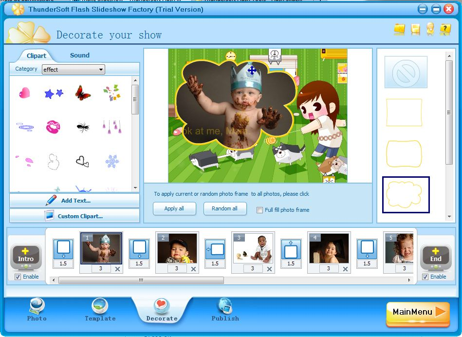 ThunderSoft Slideshow Factory 5.2.0