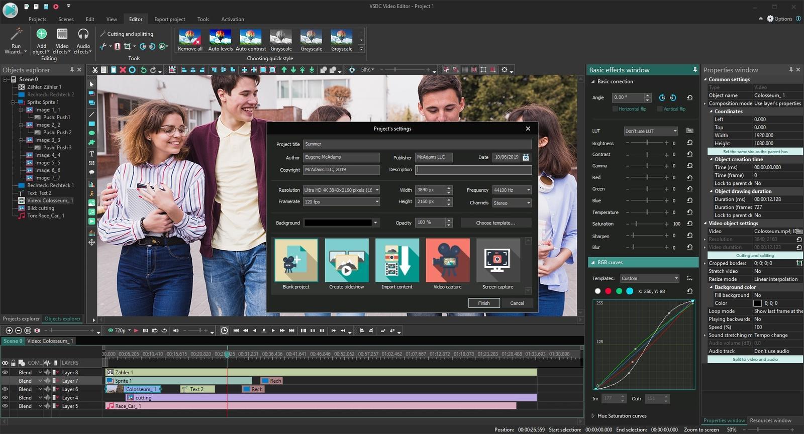 VSDC Free Video Editor 6.4.7