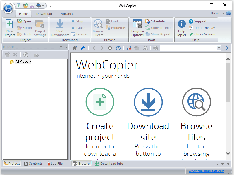 WebCopier Pro 7.0