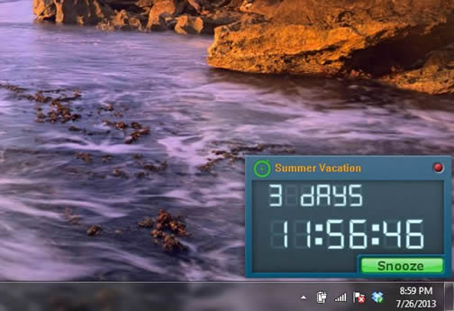 Free Countdown Timer 1.0