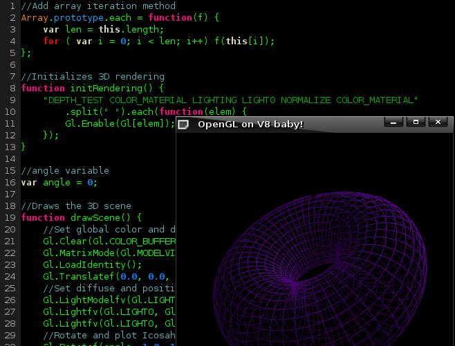 OpenGL 20.8.36