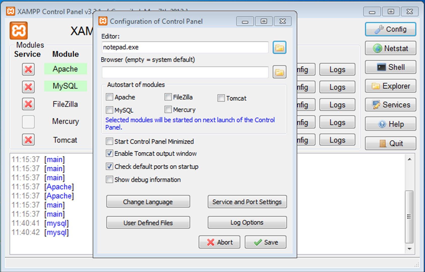 XAMPP 7.4.9.0