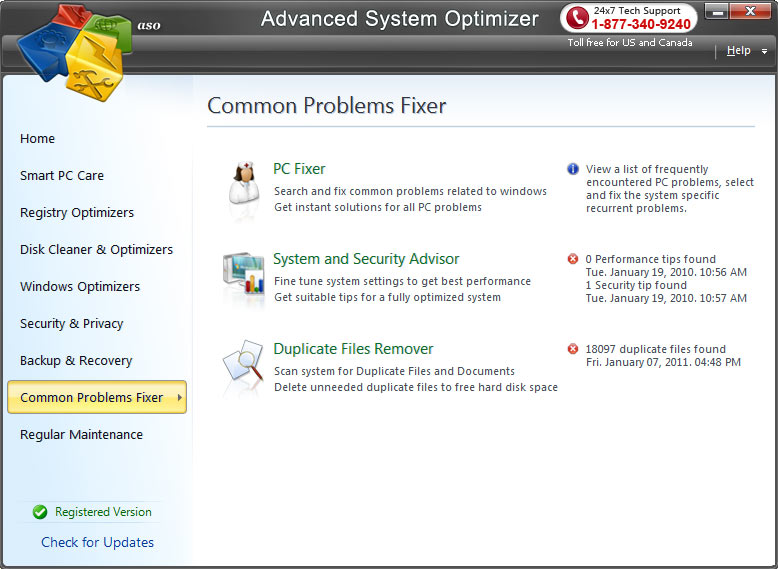 Advanced System Optimizer 3.9.3645.18056
