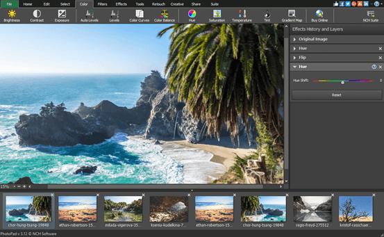 PhotoPad Photo Editing Software 7.11