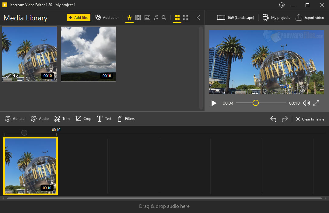 Icecream Video Editor 2.34