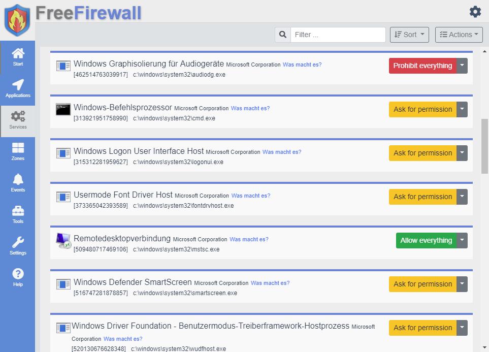 Free Firewall 2.5.7