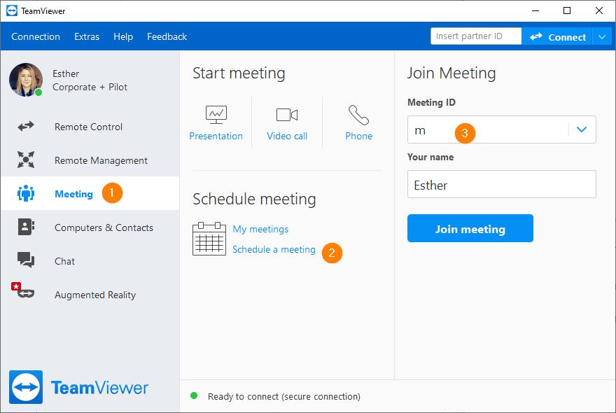 TeamViewer Meeting 15.16.2