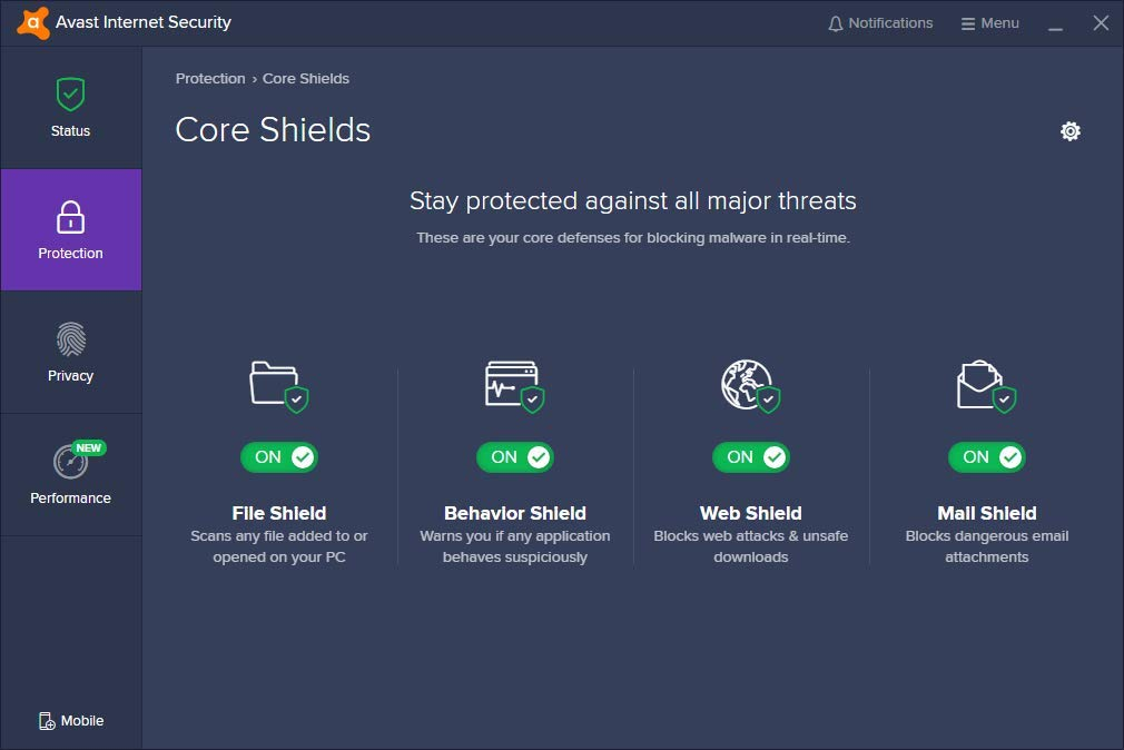 Avast Internet Security 21.3
