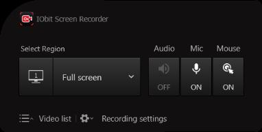 IObit Screen Recorder3