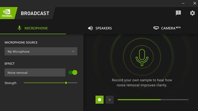 Nvidia Broadcast 1.1.0.21