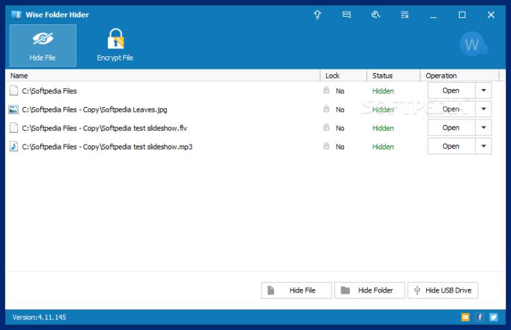 Wise Folder Hider 4.3.9.199