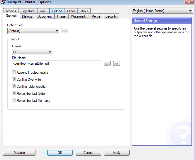 BullZip PDF Printer 12.2.0.2905