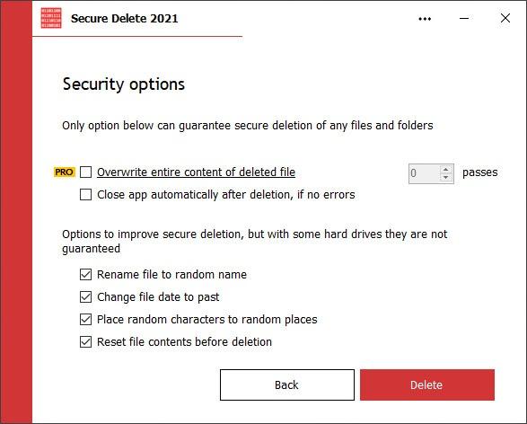 Secure Delete 2021.6