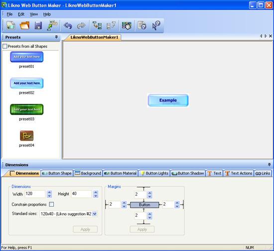 Likno Web Button Maker 2.0.167