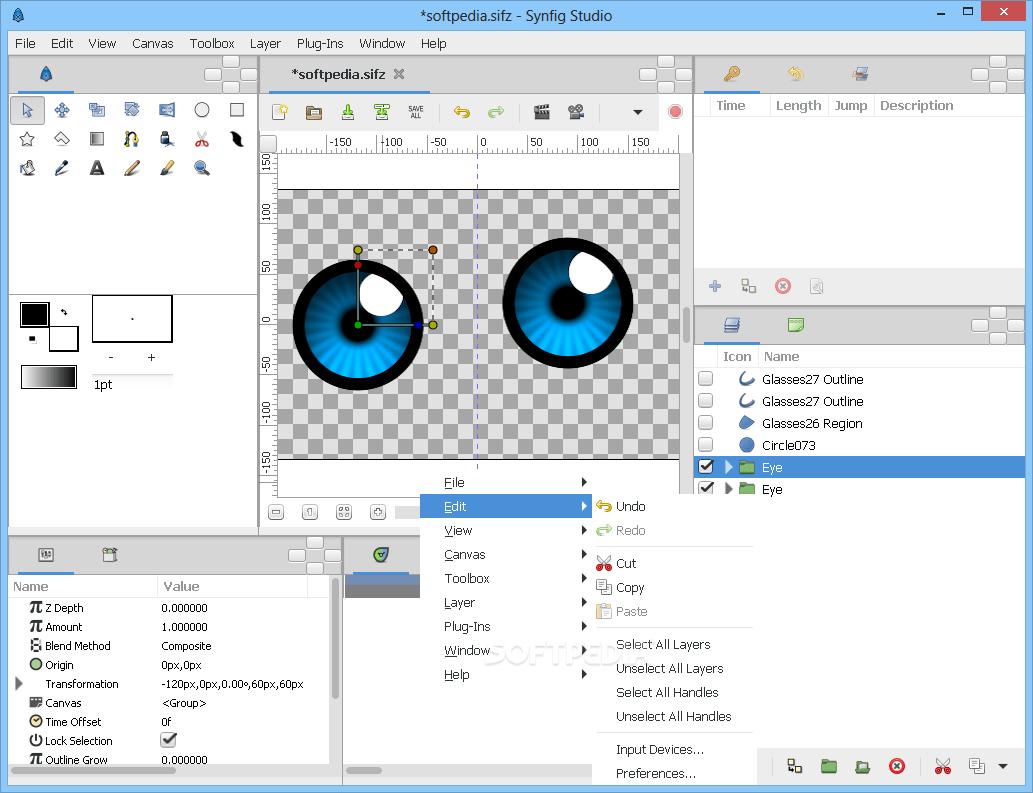 Synfig Studio 1.4.0