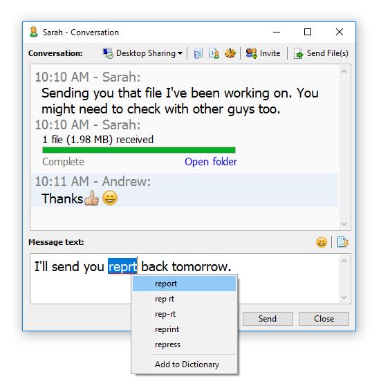 Softros LAN Messenger 9.6.8